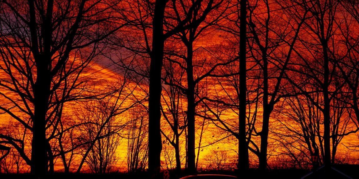 Sunset in Hopatcong